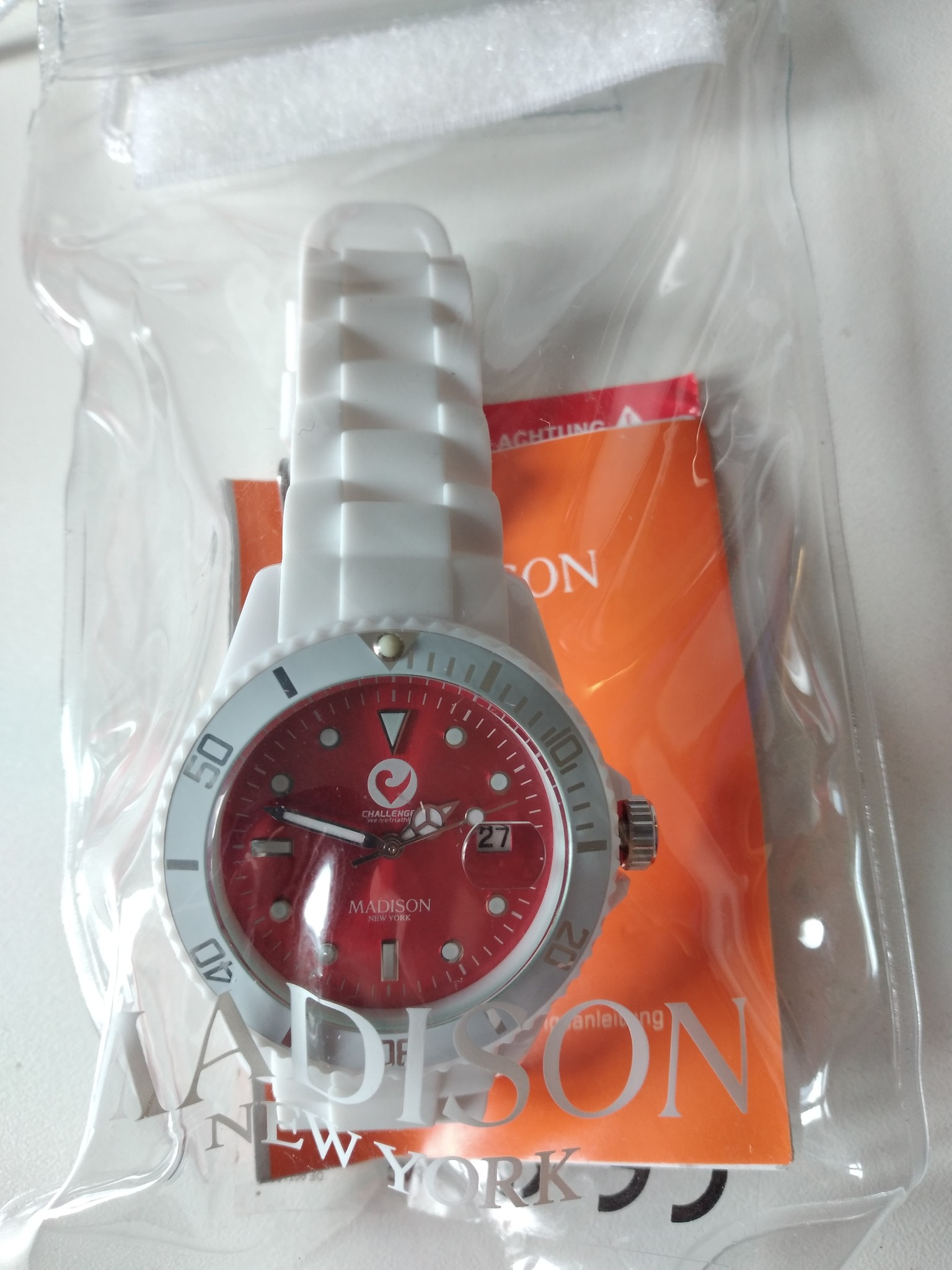 Madison Watch white, Candy Time-1