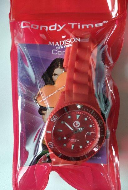 Madison Armbanduhr rot