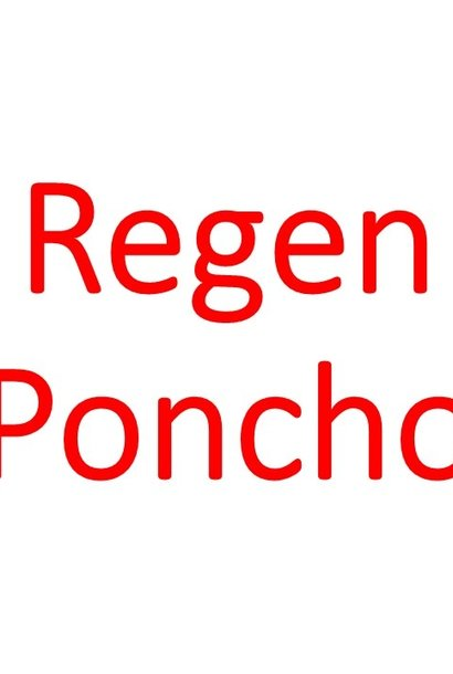 Rain-Poncho