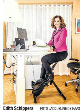 Edith schippers DeskBike