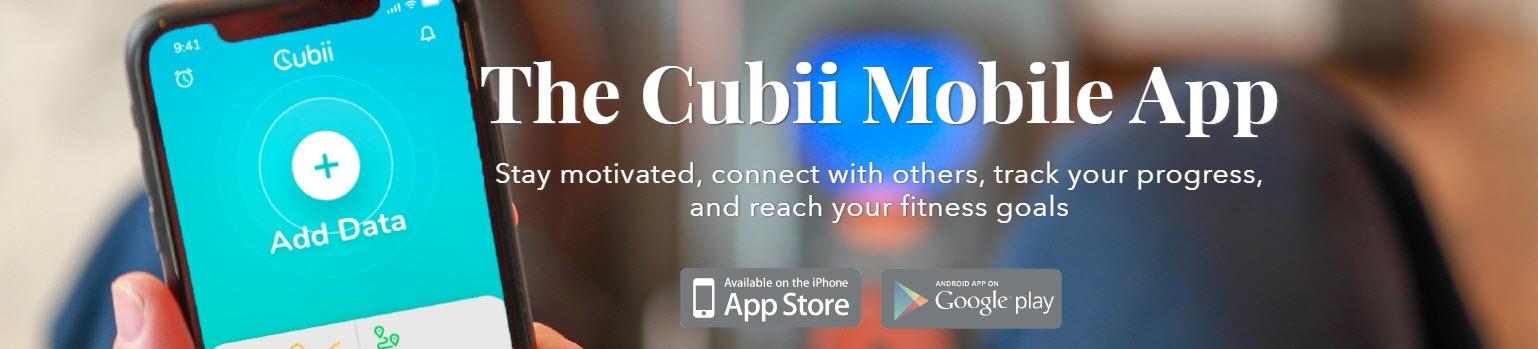 Cubii app iOS en Android