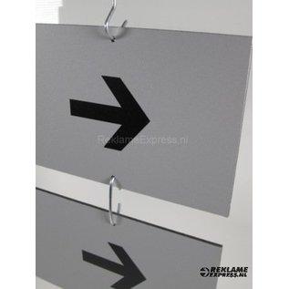 Hangbord Bezoekers Toiletten