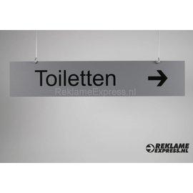Hangbord Toiletten Budgetserie