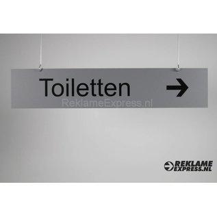 Hangbord Toiletten