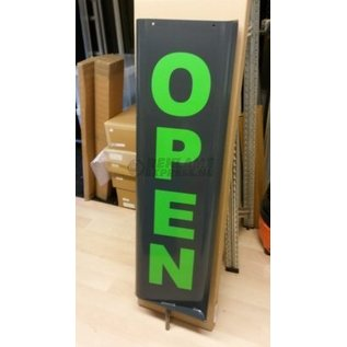 Tekstset groen voor draaiend stoepbord Topmover