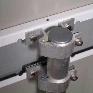 Aluminium buispaal 300 cm 48 mm