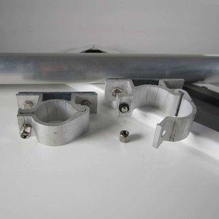 Aluminium buispaal 150 cm 48 mm