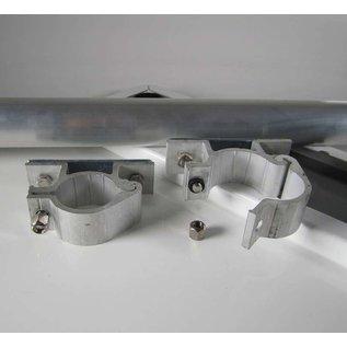 Huismerk Corona covid 19 bord metaal 20x50 cm  set compleet