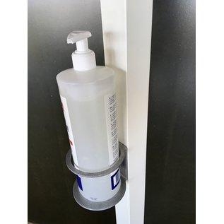 Huismerk Covid 19 Desinfectie standaard witte luxe doktersuitvoering