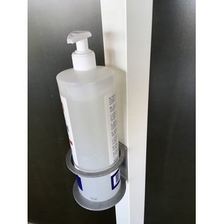 Huismerk Desinfectie standaard witte luxe doktersuitvoering