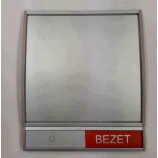 Huismerk Vrij bezetbordje meest verkochtte combinatie