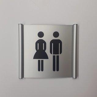 Toiletbordje wandmodel systeem P
