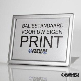 baliebordje voor eigen print A5 horizontaal