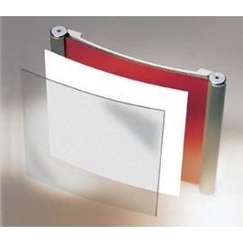 Wandbord A4 formaat horizontaal aluminium
