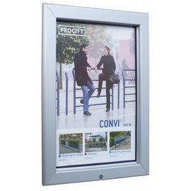 Posterlijst voor buiten A4 print 21x29,7 cm.