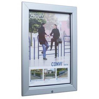 Posterlijst voor buiten A3 poster 29,7 x 42 cm.