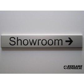 Bordje Showroom wandmodel