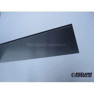 Parkeerbord Directie plaatje Dibond aluminium look.