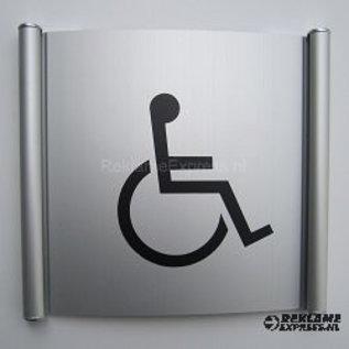 Toiletbordje Invalide wandmodel systeem P