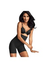Sleek Smoothers Hi-Waist Shorty Maidenform | Black