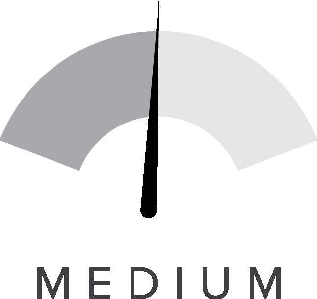 Medium Shaping level