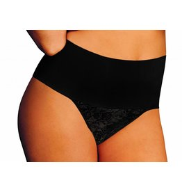 Tame your Tummy String Maidenform | Black | Lace