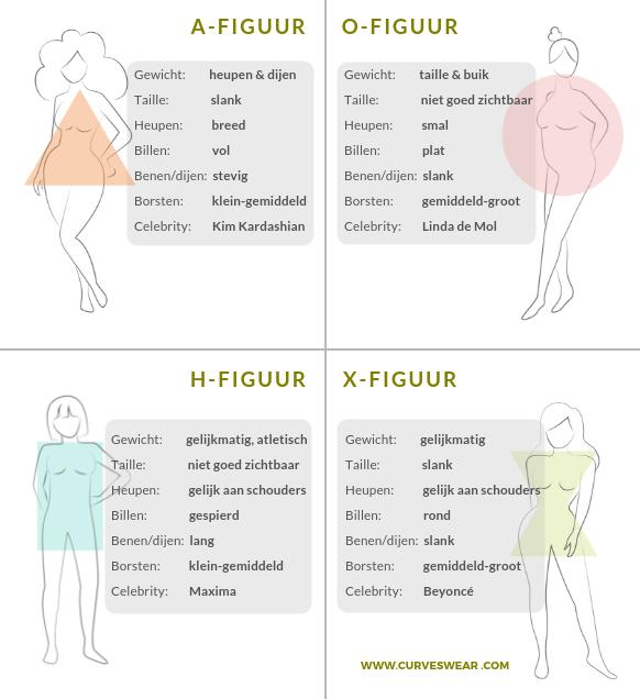 lichaamsvormen