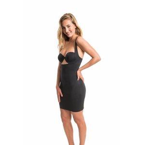 Maxi Sexy Dress   Schwarz