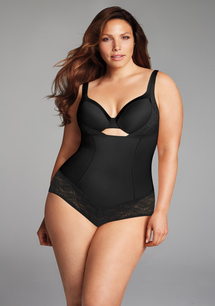 plus size corrigerende body
