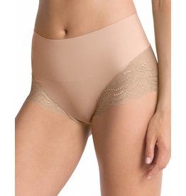 Hi-Hipster Lace Undie-Tectable SPANX | Soft Nude