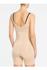 Oncore Open Bust Mid Thigh Bodysuit SPANX | Nude