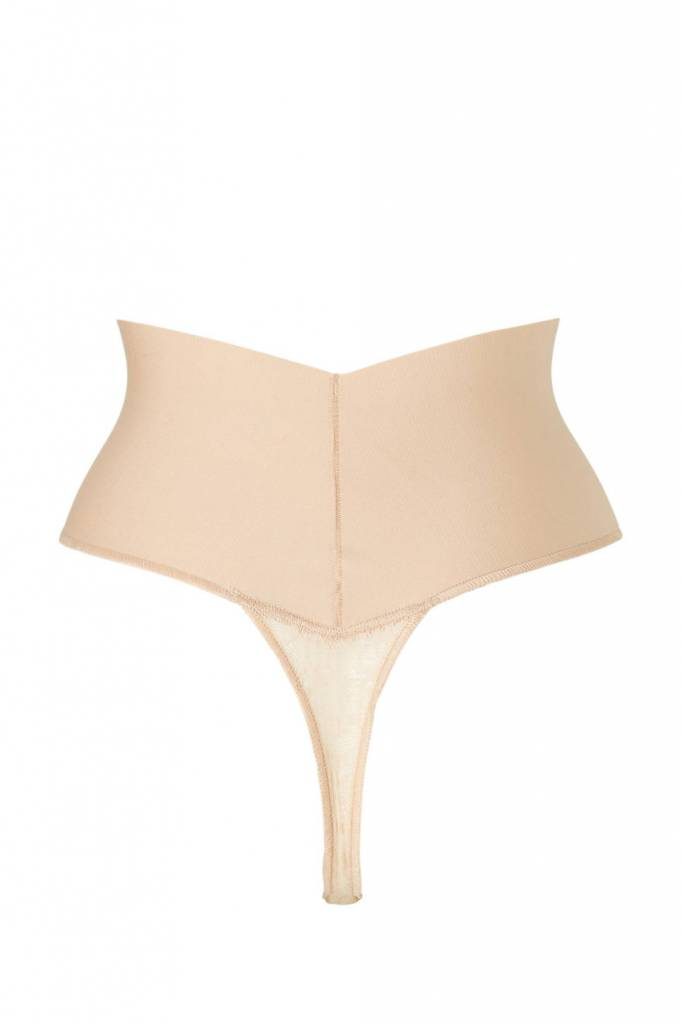 Tame your Tummy Lace Thong  Maidenform  | Nude