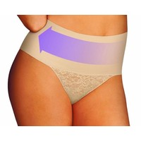 Tame your Tummy String | Lace | Nude