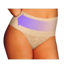 Tame your Tummy Lace String Maidenform | Nude