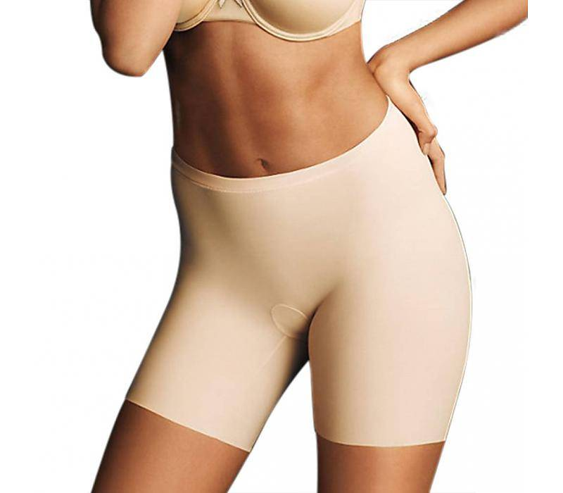 Sleek Smoothers Shorty Maidenform    Nude