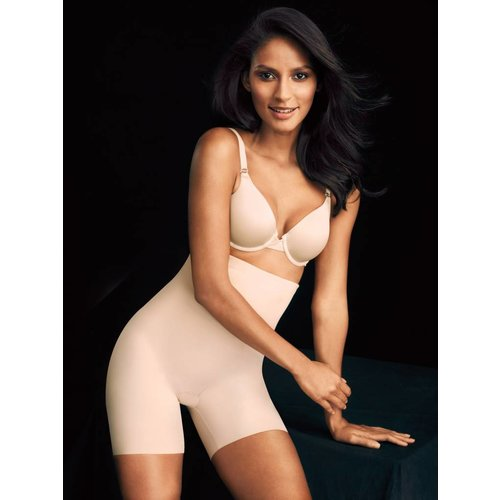 Sleek Smoothers Hi-Waist Shorty Maidenform | Soft Nude