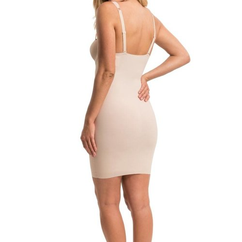 Maxi Sexy Dress MAGIC Bodyfashion | Soft Nude