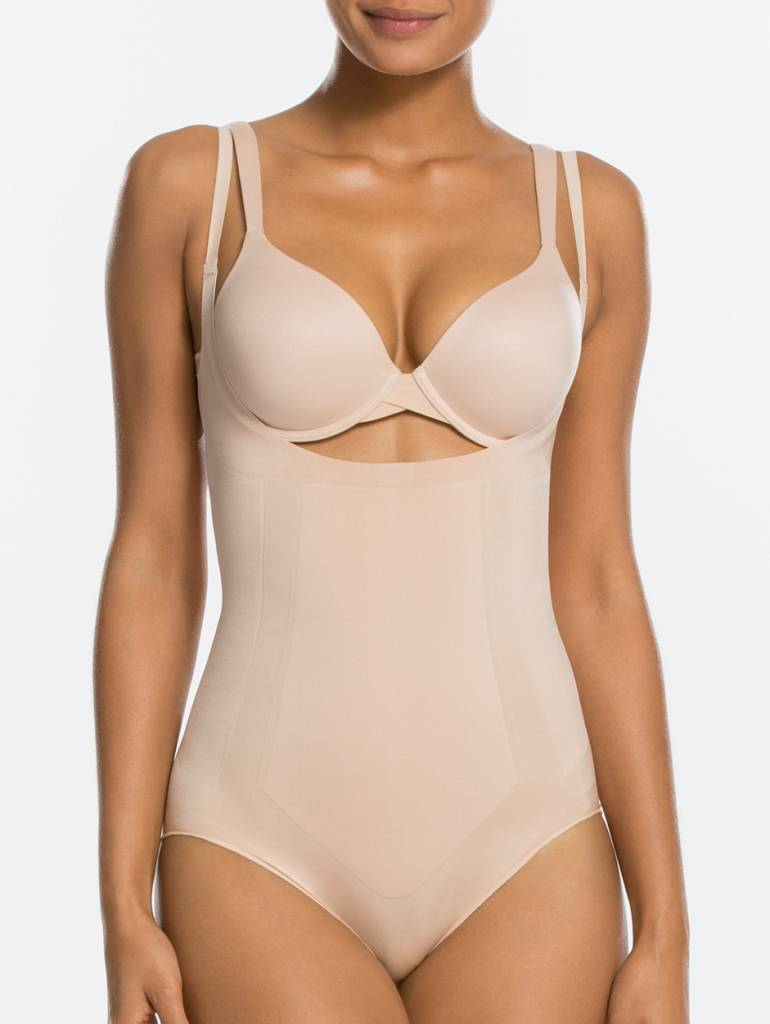 Open-Bust Bodysuit OnCore SPANX   Soft Nude