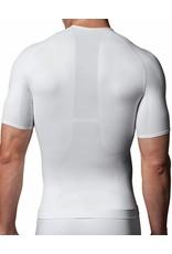 Zoned Performance V-Neck Spanx   White