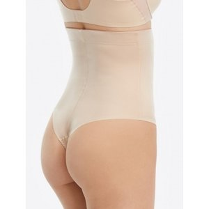 Suit Your Fancy High-Waisted Thong | Soft Nude