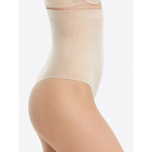 Suit Your Fancy High-Waisted Thong SPANX | Soft Nude