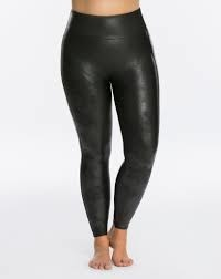 spanx faux leather legging maatje meer