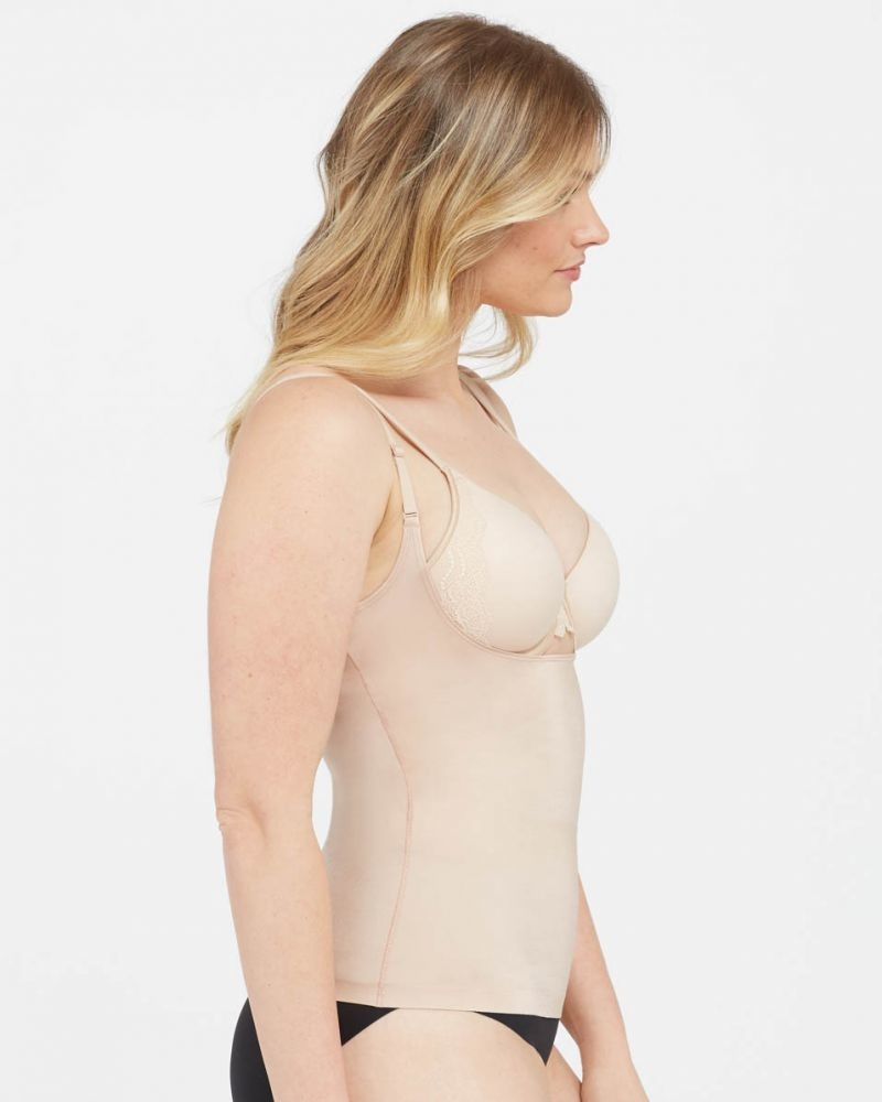 Suit Your Fancy Open Bust Cami SPANX | Soft Nude