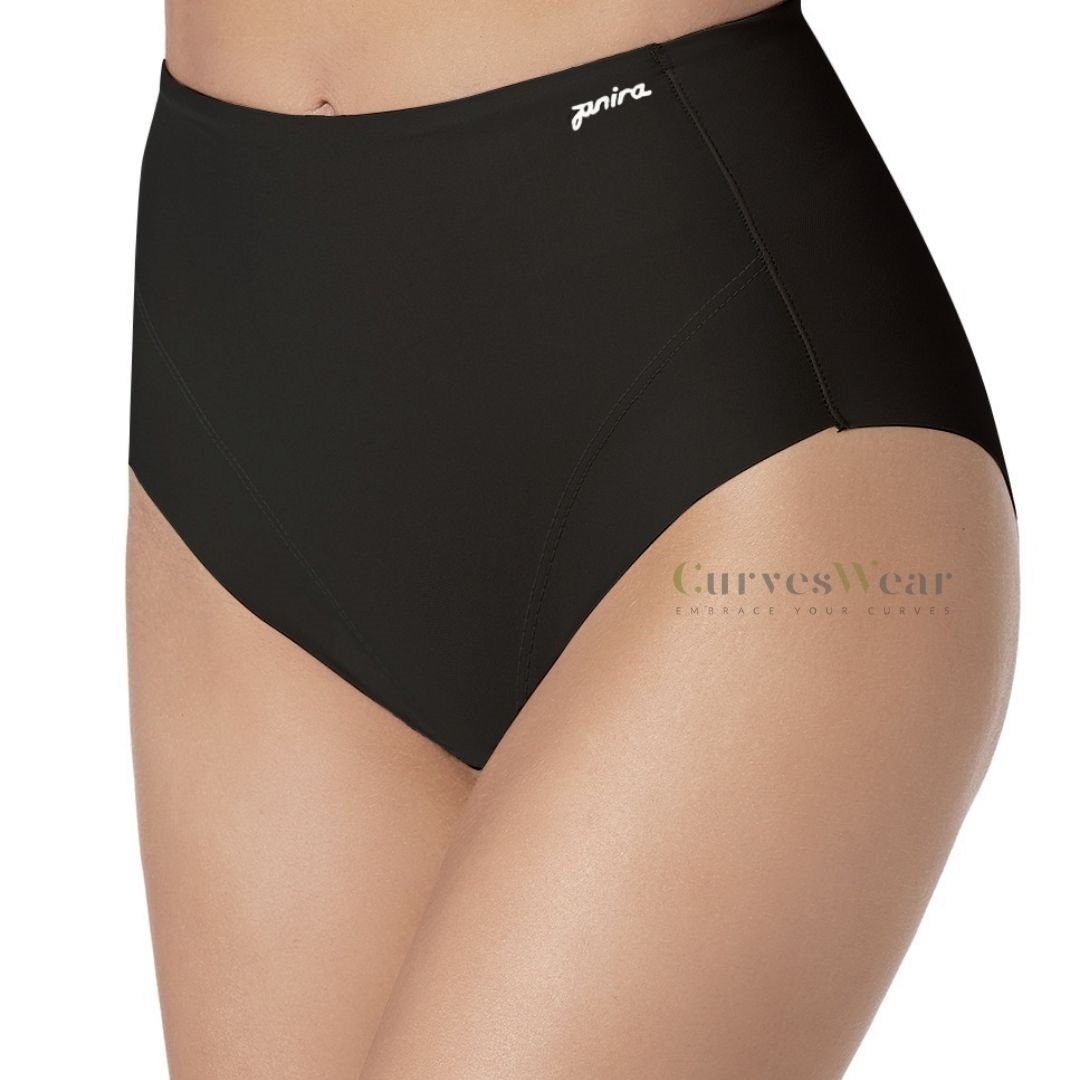 Flat Tummy Perfect Curves Slip Janira | Black