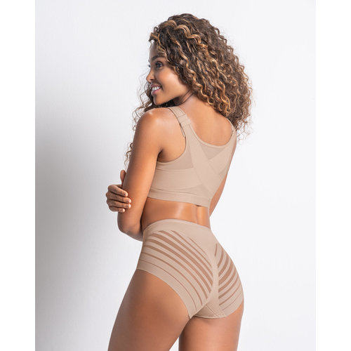 Lace Stripe Undetectable Slip | Leonisa | Nude