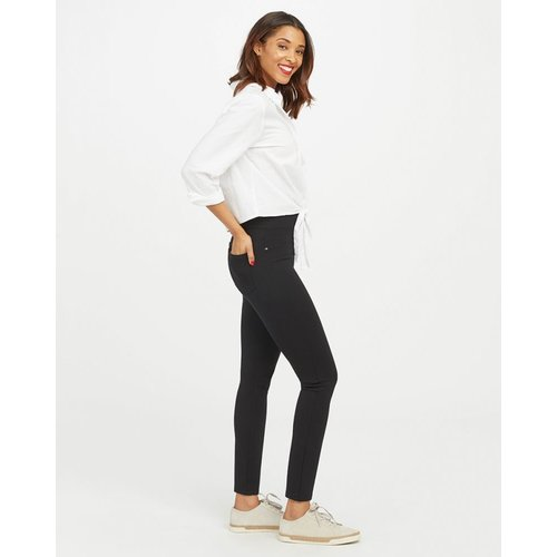 The Perfect Black Ankle Four-Pocket Pant| Zwart