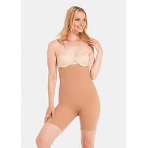 Maxi Sexy Hi Bermuda | Dark Nude