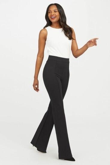 perfect black plared pant