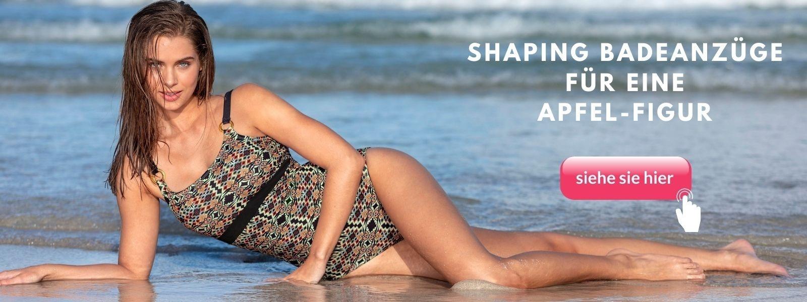 shape badeanzug apfle figur