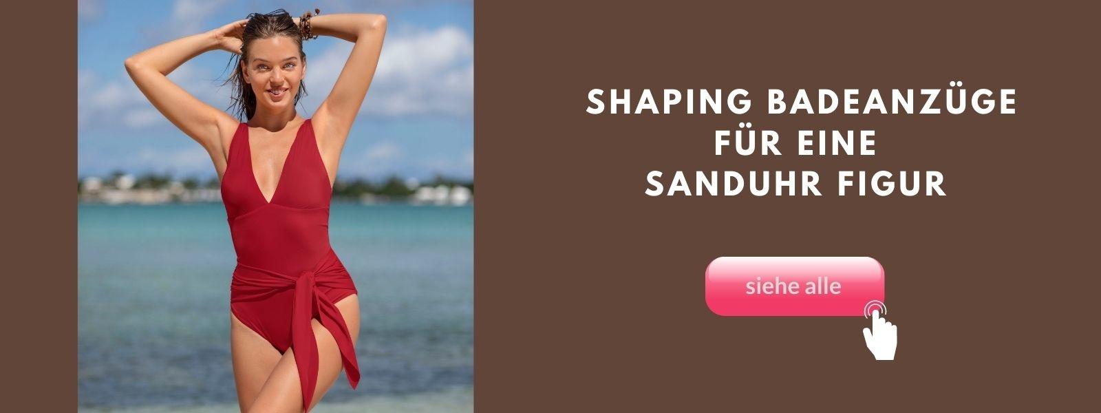 sanduhr figur shaping badeanzug